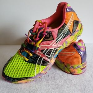 Asics Gel-Noosa Tri 8 Multicolored Running Shoes